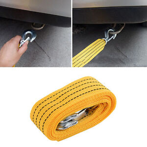 4M-Towing-Rope-Heavy-Duty-3-Tons-Car-Road-Recovery-Tow-Strap-Trailer-Steel-Wire