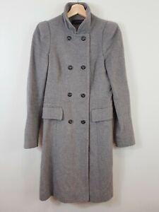 [ ZARA ] Womens Grey Coat / Jacket  | Size AU 8 or US 4