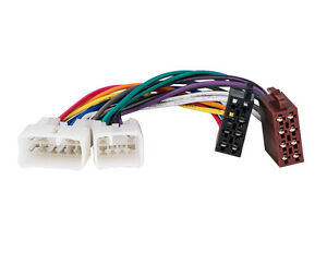 s l300 aps *new* toyota factory radio iso wiring harness adapter twh 950 Wire Harness Assembly at highcare.asia