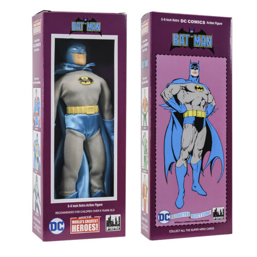 DC Comics Retro Style Boxed 8 Inch Action Figures Retro 4 Batman