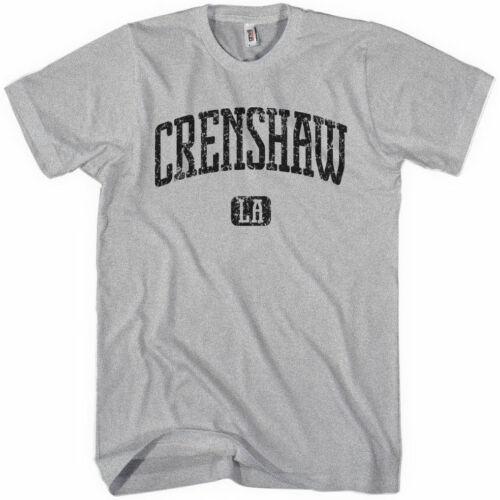 CRENSHAW T-shirt California LA Los Angeles Cali XS-4XL