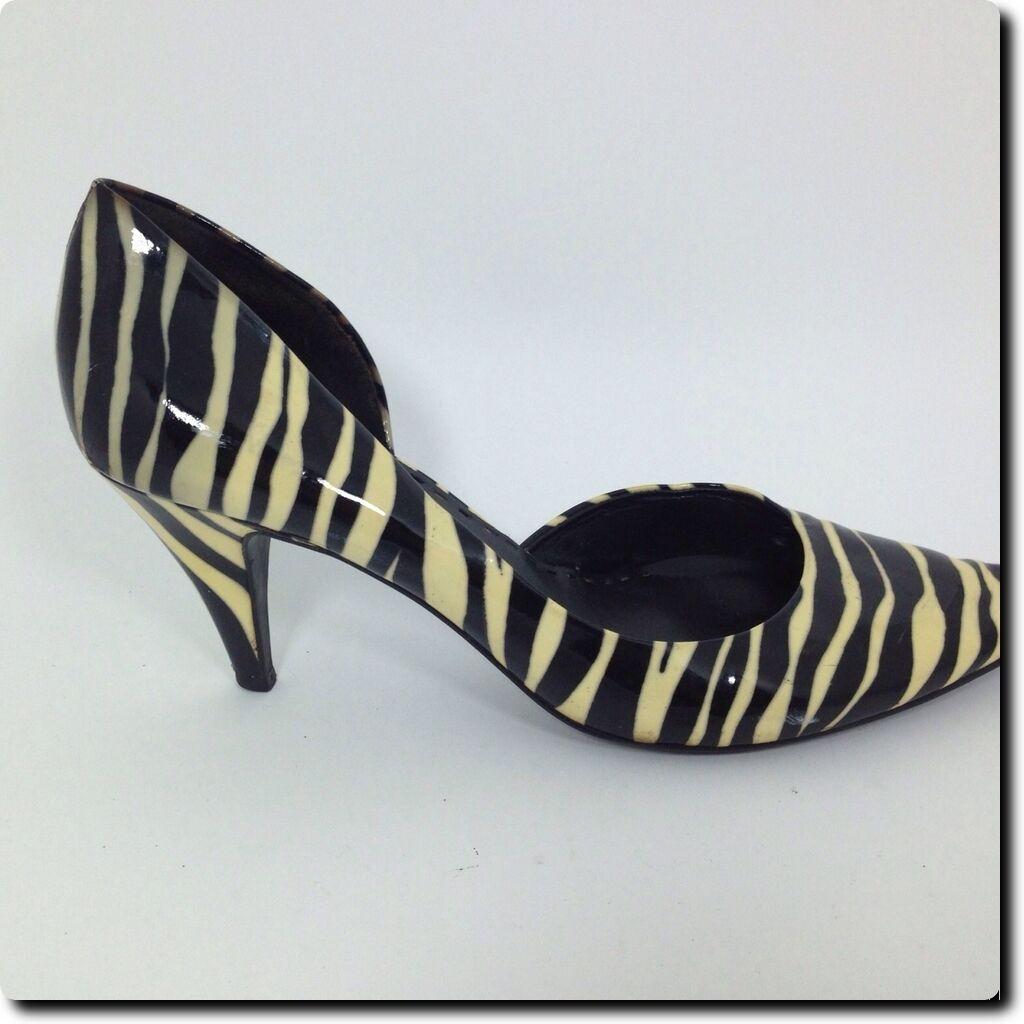 Gianni Bini Shoes Zebra Print Coated Leather Shoes Bini 28991e