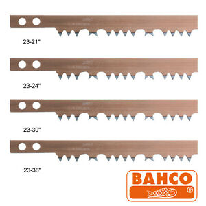 """BAHCO 23-s Hard Point Green Wood Wet Cut Bow Saw Blade Choice Of 21"""" 24"""" 30"""" 36"""""""