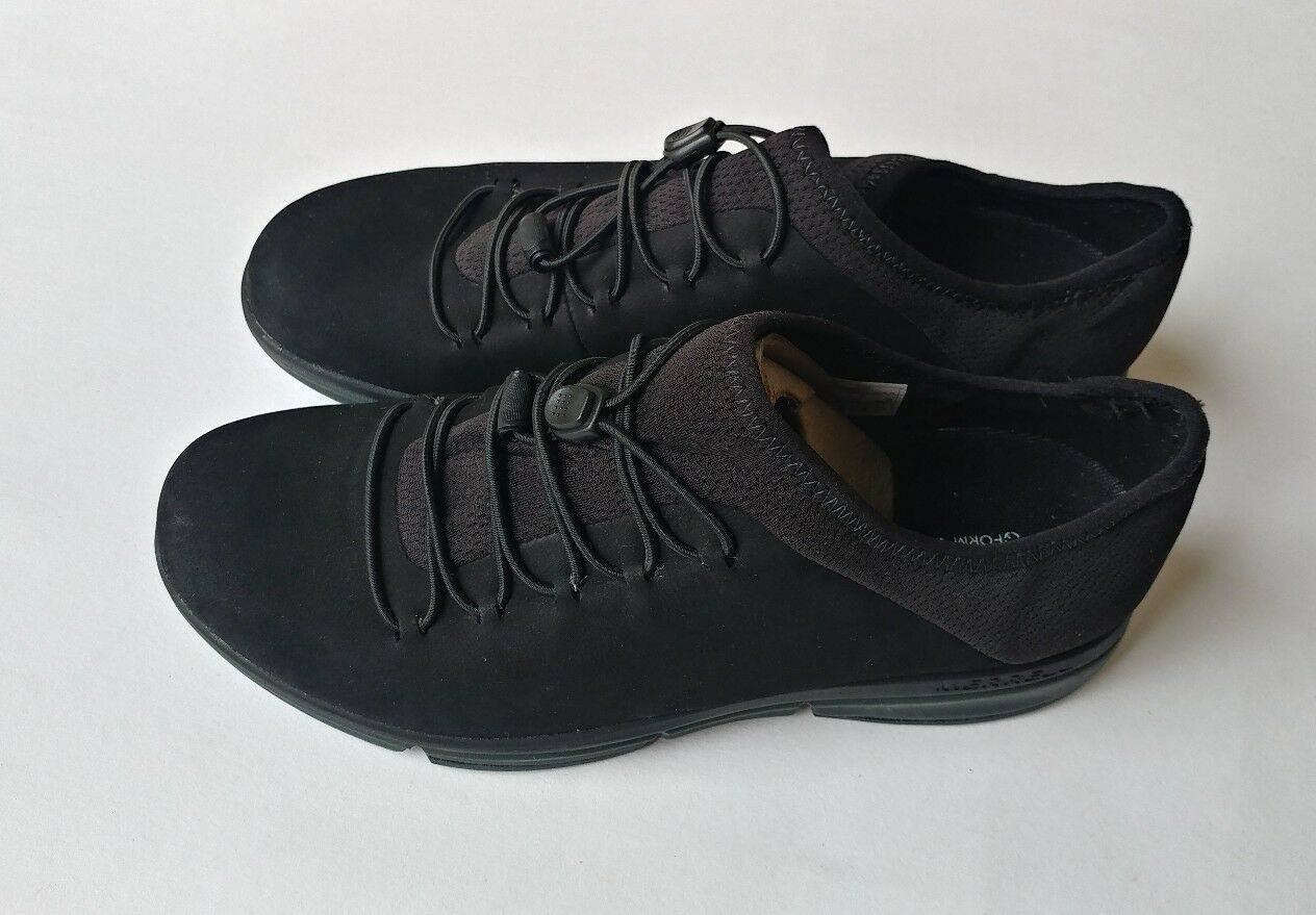 Merrell Mujer Zoe sojoum Encaje Q2 negro cuero zapatos