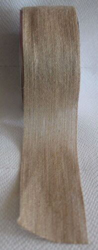 1 meter Jute Band Juteband 6 cm breit natur