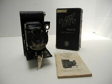 Antique Vest Pocket Kodak Model B Periscopic Lens Camera with Box & Instructions