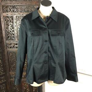 Lafayette-148-16-Shirt-Black-Button-Down