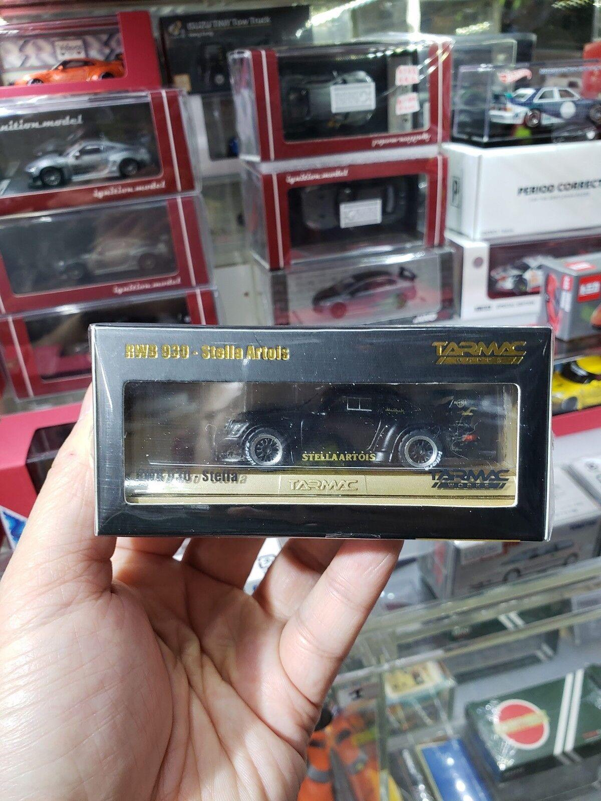 Tarmac Works 1 64 Porsche 930 RSF Rauh-Welt Begriff stellaartois conteneur