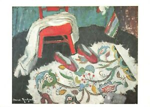 Art-Postcard-The-Indian-Rug-c1942-by-Anne-Redpath-IQ9