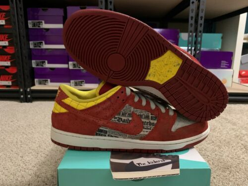 Nike SB Dunk Low Premium Crawfish 504750 660 size
