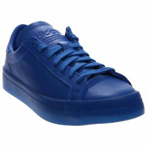 brand new 90635 839b0 Image is loading adidas-CourtVantage-Adicolor-Tennis-Shoes-Blue-Mens