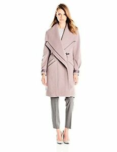 Badgley-Mischka-Womens-Outerwear-Manila-Wool-Coat-W-Pick-SZ-Color
