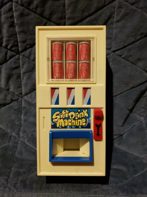 Coca Cola Toy Vending Machine Vintage 1980 Soft Drink ...