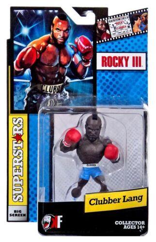 SHORT BLEU Rocky III Grand écran Superstars Clubber Lang Mini Figure