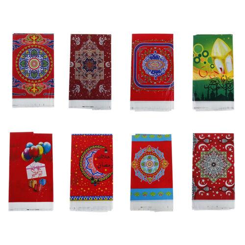 108*180cm EID MUBARAK table cloth Ramadan Decor For Muslim EID Party Supply Fad