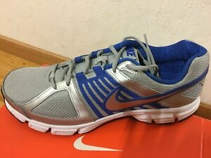 incluir rizo Conflicto  Nuevo Nike Downshifter 5 para hombre Talla 10 Correr Atléticos Zapatos  Plata Azul Gris | eBay