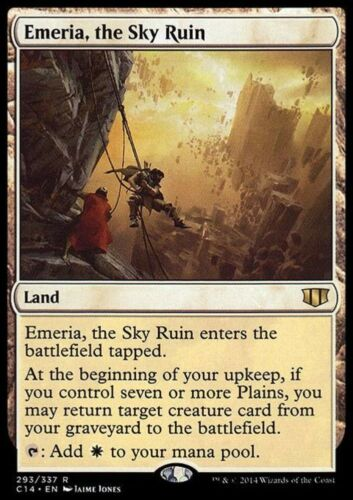 LA ROVINA DEL CIELO EMERIA THE SKY RUIN Magic C14 Commander 2014 EMERIA