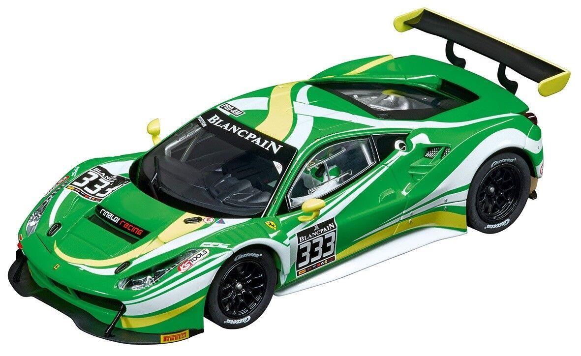 Carrera Digital 132 Ferrari 488 GT3, Rinaldi Racing, No.333, 1 32 Slot Car 30847