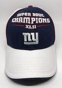 3b4425de7bc NFL NY New York Giants Super Bowl Champs XLII Cap Hat Adult ...