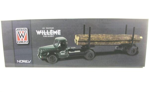 Willeme ld610 Fardier transporte de madera (Wood transporte)