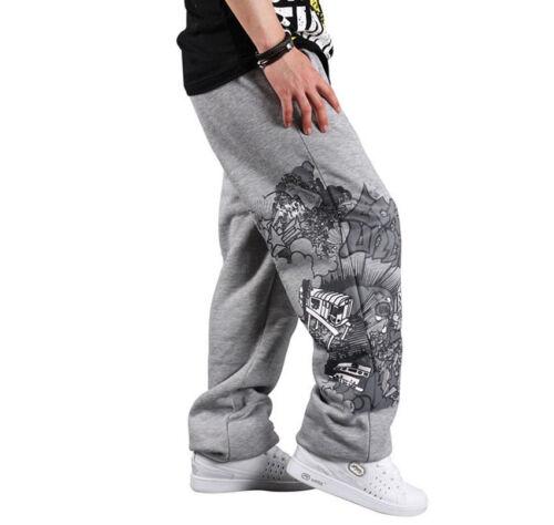 Hip Hop B-Garçon Homme Skateboard Jogging en Pur Coton Pantalon