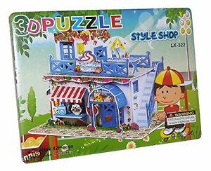 Puzzles Ausdauernd Eisladen Eiscreme Eisdiele 3d Spielzeug Puzzle Puzzlespiel 42 Teile Neu Lx-322 Spielzeug