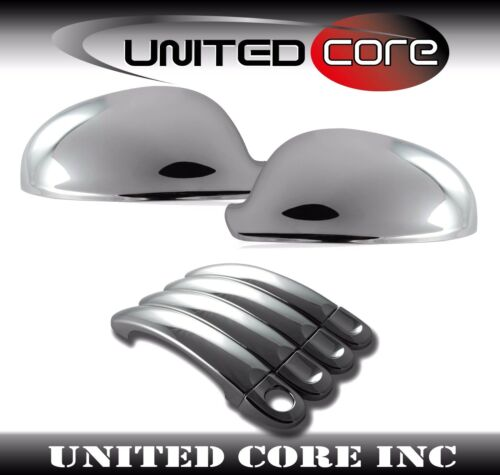 VW Jetta 06-10 Chrome Mirror Chrome 4 Door Handle Cover