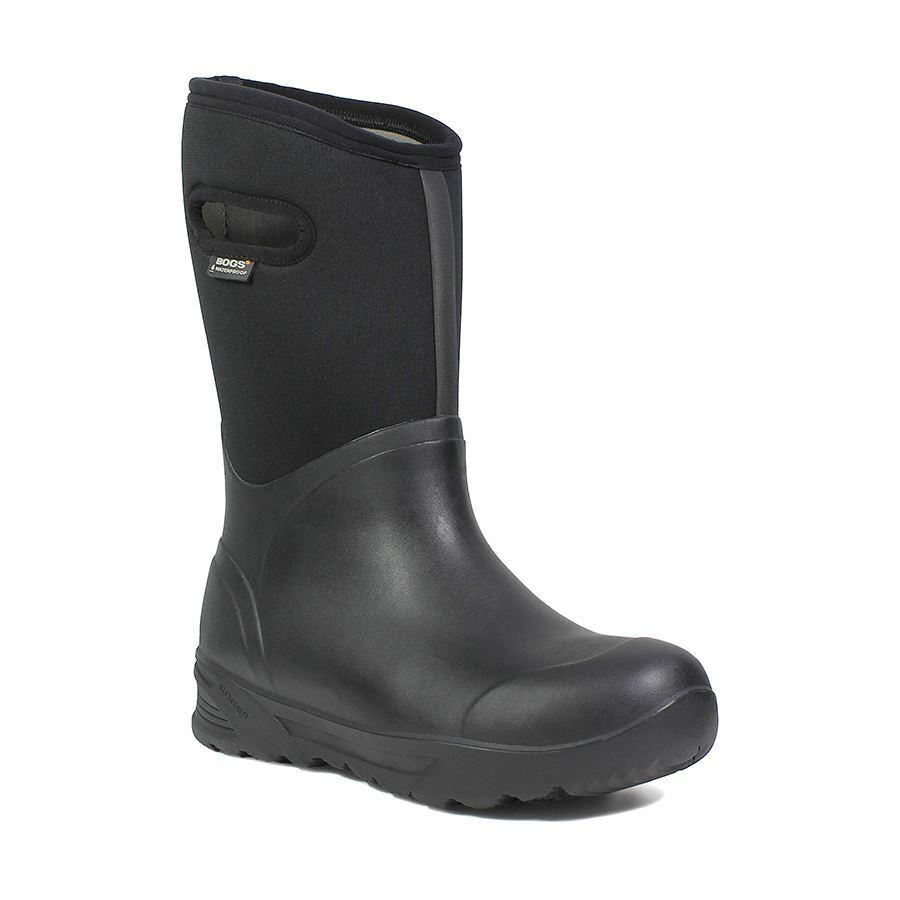 Bogs Hombre Bozeman Alto Hombre Térmico botas de Invierno Negro 71971-001