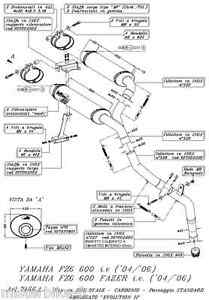 Pot-Echappement-Exhaust-LEOVINCE-Evo2-Ovale-Carbone-Yamaha-FZ6-Fazer-2004-2005