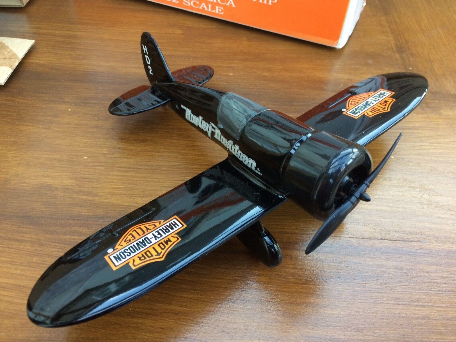 Wings of TEXACO Coin Bank Diecast modello aereo STEARMAN CURTISS ROBIN HARLEY