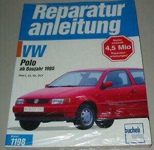 Reparaturanleitung-VW-Polo-III-6N-ab-Baujahr-1995-L-CL-GL-GLX-Bucheli-Buch-NEU