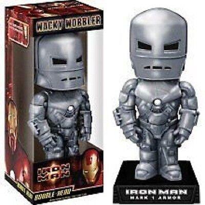 Electronic Tag Iron Man 3 Iron Patriot Wacky Wobbler Bobble Head NEW