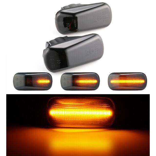 2x OEM LED Amber Side Marker Lights For Honda Accord Civic