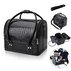 Image Is Loading Professional Makeup Bag Case Beauty Cosmetic Box Vanity