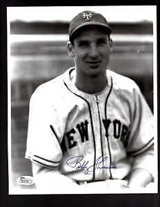 Bobby-Thomson-D-2010-Signed-Autograph-New-York-Giants-8x10-Photo-JSA-R31116
