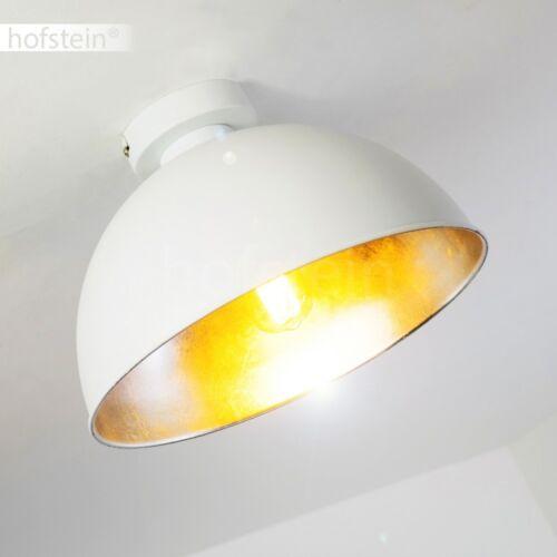 Design Deckenleuchte Flur Küchen Lampen Wohn Schlaf Zimmer Leuchten weiss//silber