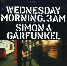 SIMON AND GARFUNKEL WEDNESDAY MORNING 3AM 3 Extra Tracks REMASTERED CD NEW