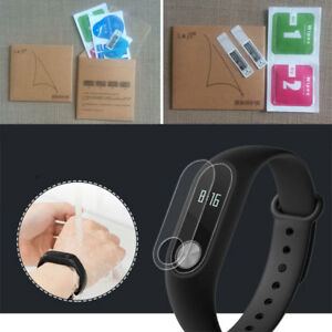 2pcs-Clear-Screen-Protector-Protective-Film-For-Xiaomi-Mi-Band-2-Smartband-Watch