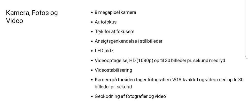 iPhone 4S, 8 GB, hvid