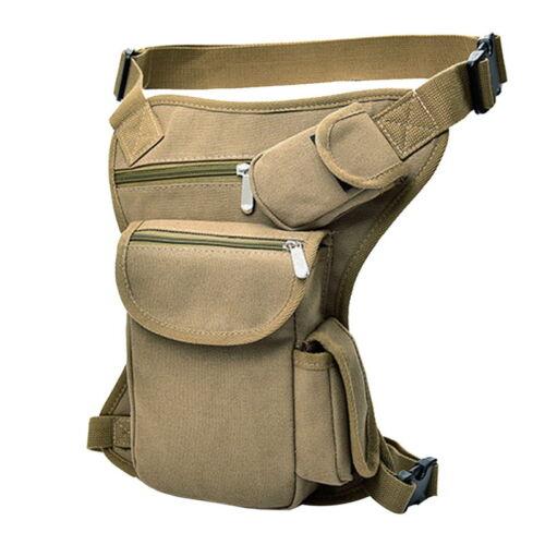 Multifunctional Leg Bag Men/'s Bag Outdoor vacancy Sports Pockets 32x23x6cm