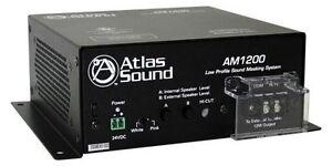 Capable Atlas Sound Am1200 Sound Masquage Système-afficher Le Titre D'origine Un Style Actuel