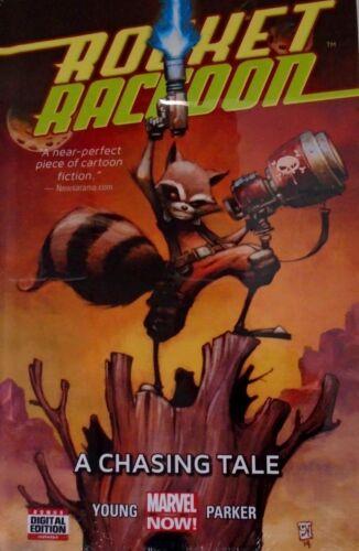 1 A Chasing Tail HC 50/% Off FS Skottie Young Marvel Comics Rocket Raccoon Vol
