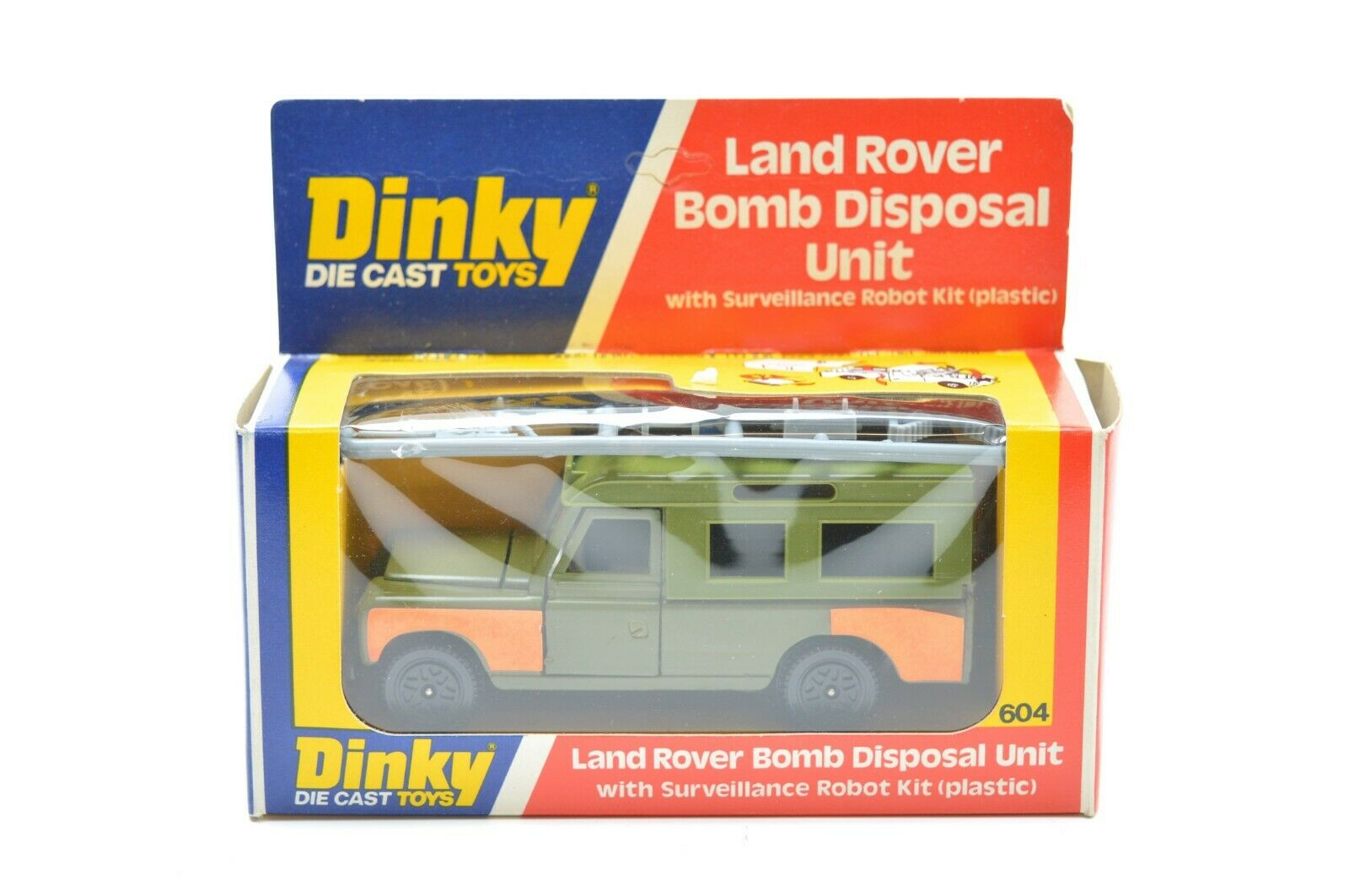 DINKY 604 LANDROVER BOMB DISPOSAL