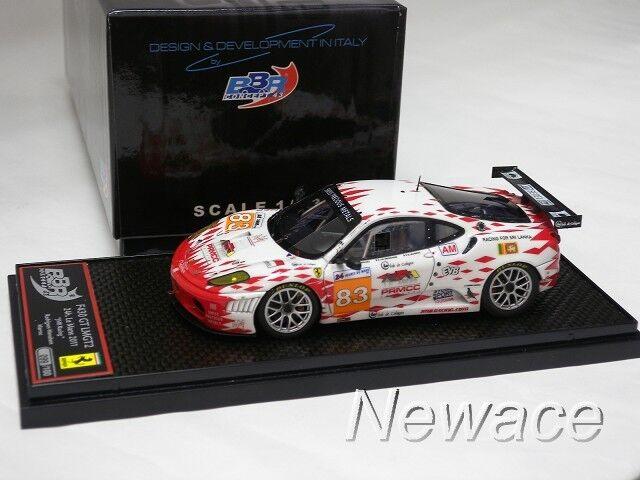 Ferrari F430 GT2 Edición Limitada Mans 2011 JMB Racing Car NO.83 BBR Models 1 43  BBRC 67