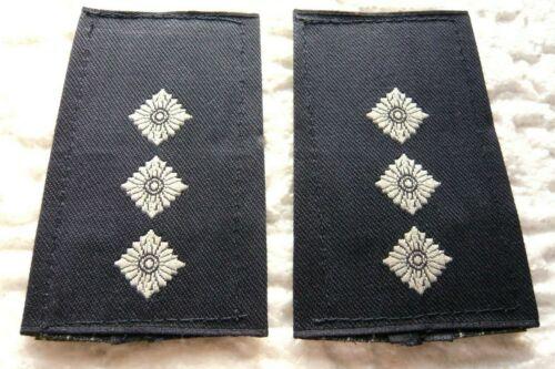 KLETT Rangabzeichen Luftwaffe Hauptmann weiß//blau Bundeswehr Schulterklappen