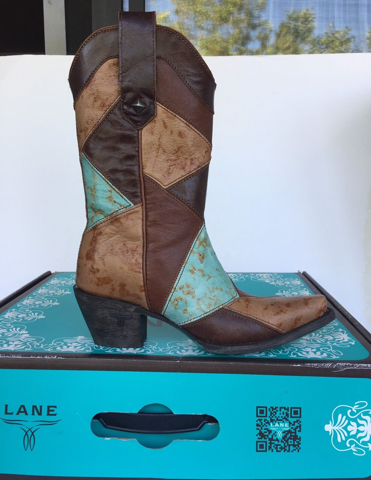 New! Lane Boots LB0317D Women's Medley Boot Size US 6.5 395