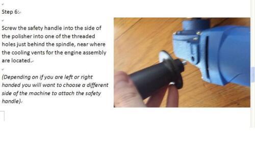 Pipe Tube Polisher 30 alumina Belt Sanding metal de-rust iron fits Metabo hardin