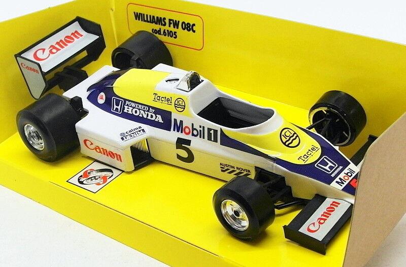 descuento de ventas en línea Burago 1 24 Scale Model Coche B27V - - - F1 Williams FW 08C Turbo  5  Web oficial