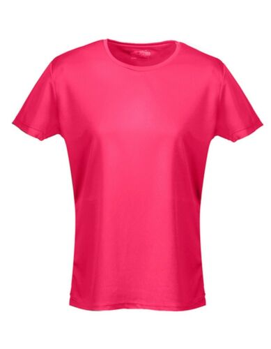 Damen Funktionsshirt Fitness Freizeit XS S M L XL NEON Laufshirt T-Shirt Sport