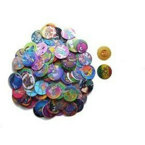 1000 Assorted Pogs Poggs Milkcaps with 30 Slammers   13228